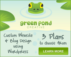 Custom Website & Blog Design - Green Pond Creative