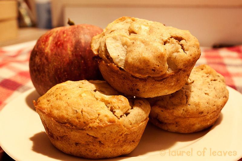 Date Filled Apple Muffins