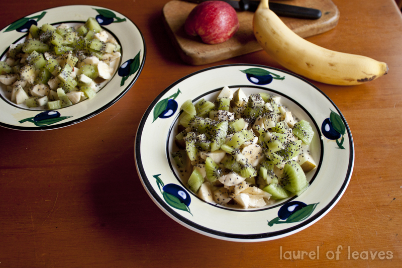 Yogurt with Fruit & Chia Seeds