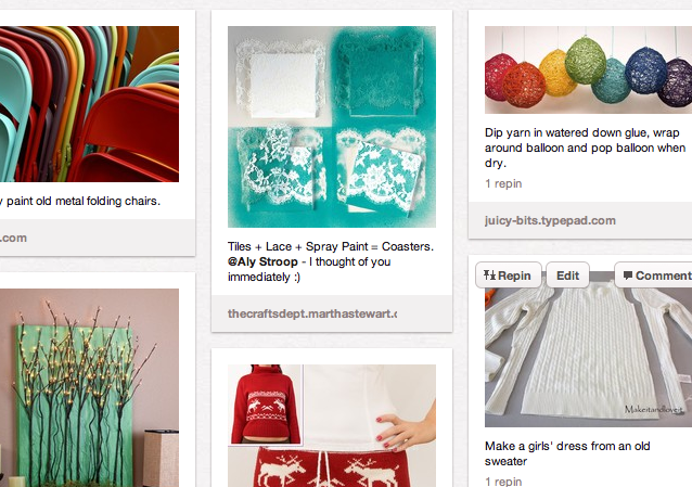 Craft Inspiration from Pinterest