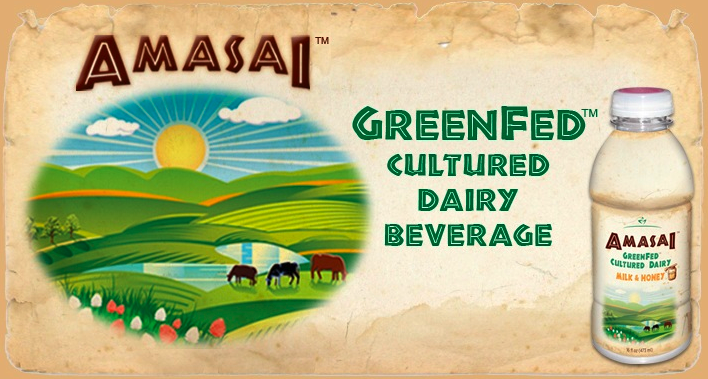 Amasai GreenFed Cultured Dairy Beverage from Beyond Organic