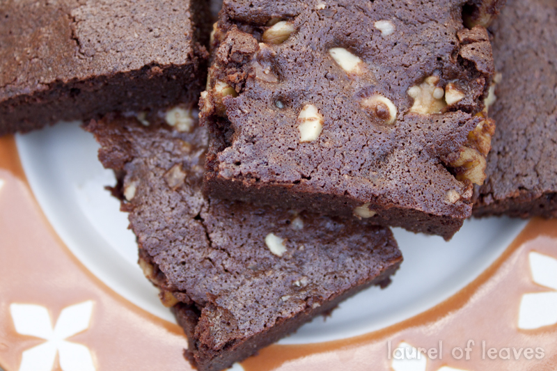 Best Ever Dark Chocolate Brownies