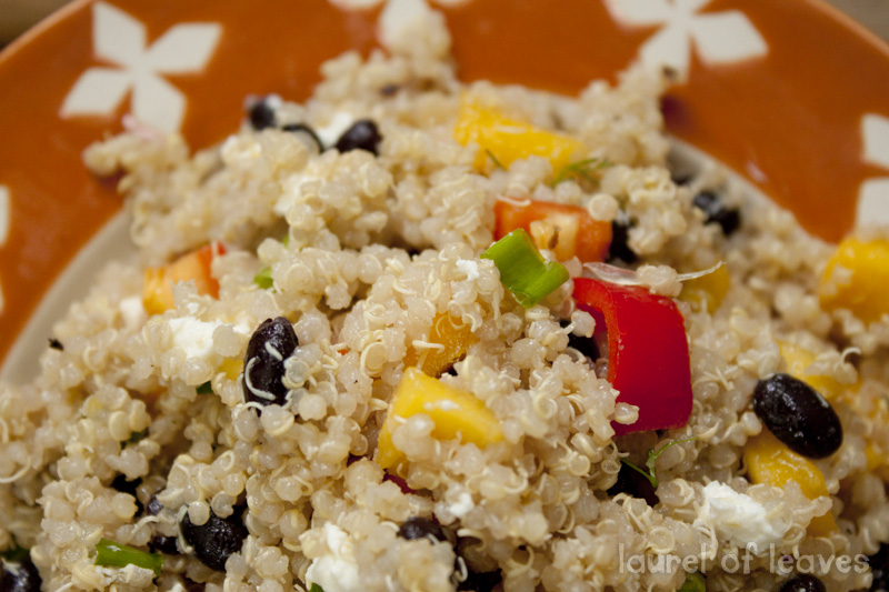 What are your favorite quinoa dishes? Link to them below!