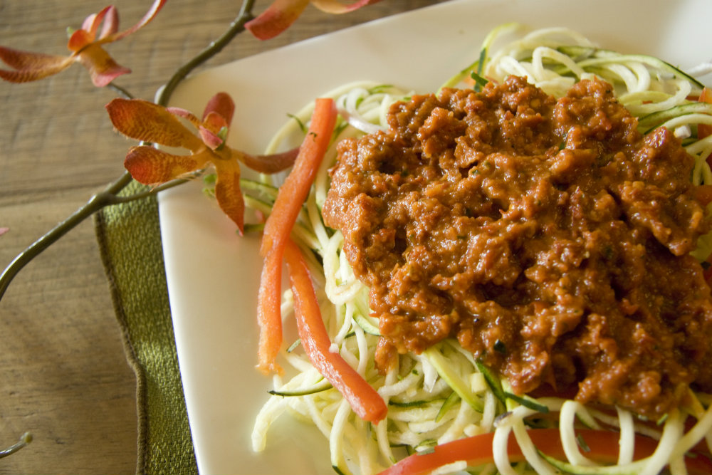 Raw food recipe zucchini pasta food for health recipes raw food recipe zucchini pasta forumfinder Image collections