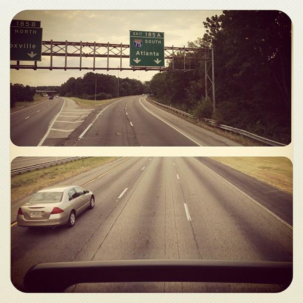 Double Decker Bus to Atlanta